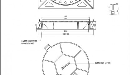 Circular Manhole Cover and Frame (Type 2A and 2B)