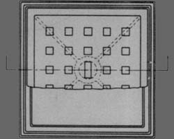 Square Single Seal Manhole (Type 14A)